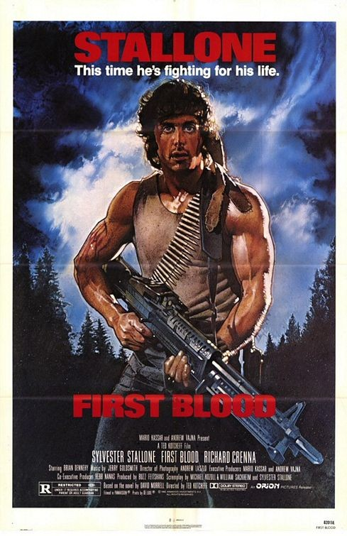 Rambo-ilk kan 2- Rambo: First Blood Part II 1985