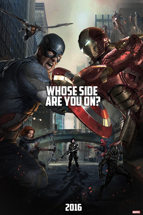 Kaptan Amerika 3 – Captain America: Civil War 2016 izle
