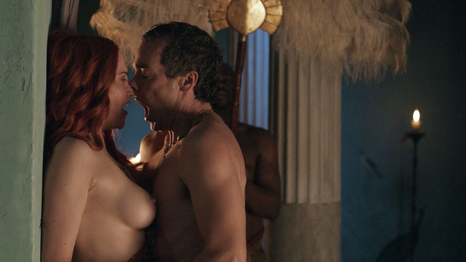 Lucy lawless naked in spartacus